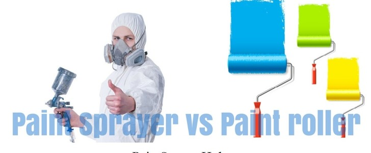 Paint Sprayer vs Paint Roller