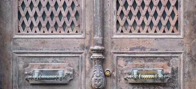paint aluminium door
