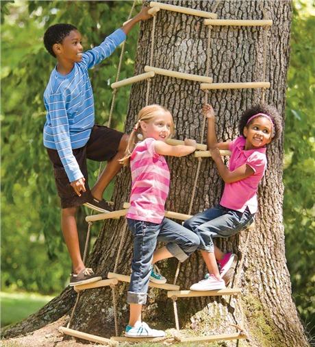 ladder rope kids
