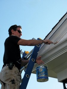 ladder safety painting