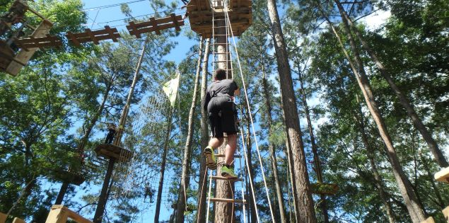 rope ladder outdoor