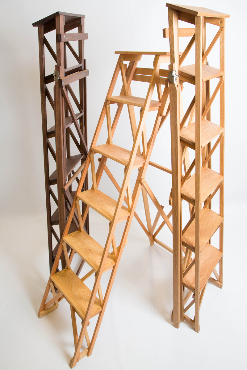wooden stepladder collection