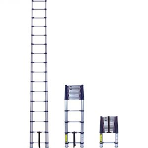 telescoping ladder retractable and detractable