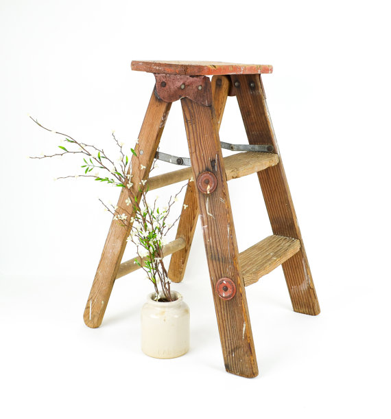 Tremendous How To Make Your Diy Wood Step Ladder Paintingtheme Com Beatyapartments Chair Design Images Beatyapartmentscom