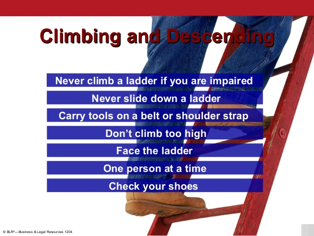 ladder safety guide
